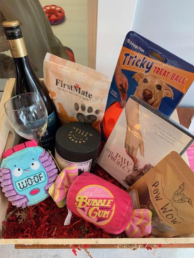 gift basket of love raffle
