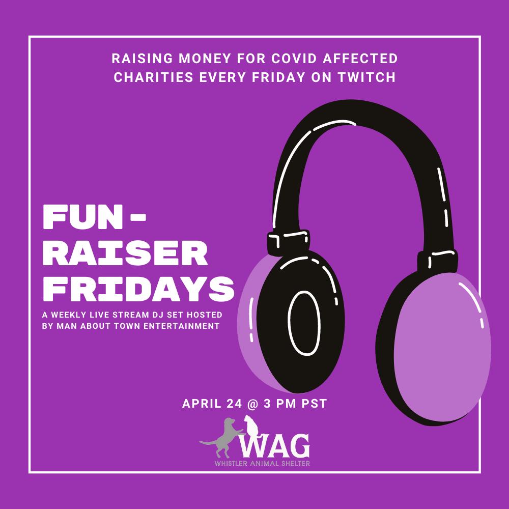FUN-raiser Fridays - WAG- Social Graphic